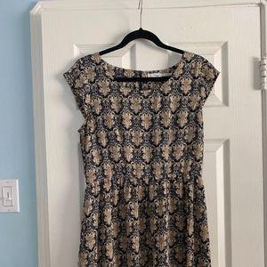 Blu Pepper Mini Dress